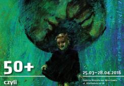 """Wystawa prac Miry Żelechower-Aleksiun """"50+ czyli pół wieku twórczości Miry"""" w Galerii Miejskiej we Wrocławiu"""