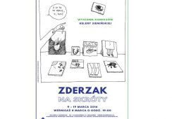 """Wystawa Heleny Siemińskiej  """"Zderzak na skróty"""" w Galerii Zderzak w Krakowie"""