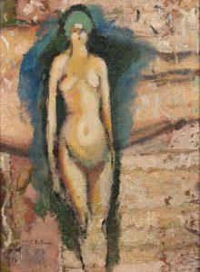Marcel Duchamp, Akt stojący, 1910-11, źródło: Artcurial