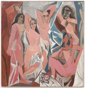 Pablo Picasso, Panny z Awinionu, 1907