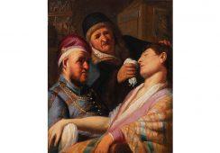 Odnaleziony niedawno obraz Rembrandta hitem targów TEFAF Maastricht