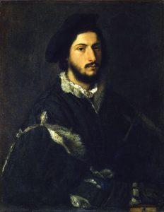 Tycjan, Portret mężczyzny, 1526