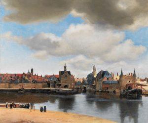 Johannes Vermeer, Widok Delft, ok. 1661