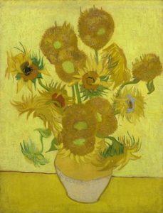 Vincent van Gogh, Słoneczniki, 1889