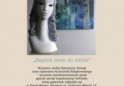 ZAPROŚ MNIE DO SIEBIE – wystawa rzeźby i malarstwa w Starej Rzeźni w Szczecinie