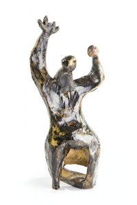Alina Szapocznikow, Ludzie-Drzewa III, 1957, źródło: DESA Unicum