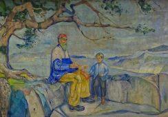 Litografia Edvarda Muncha odzyskana po 7 latach od zaginięcia