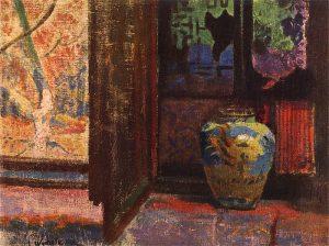 Leon Wyczółkowskie, Martwa natura z wazą, 1905
