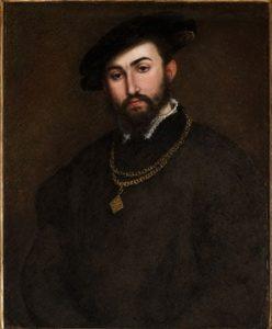 Lorenzo Lotto, Portret mężczyzny, XVII w.