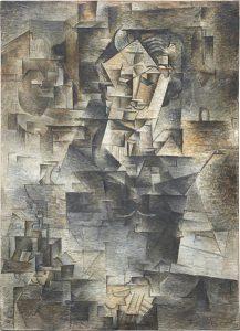 Pablo Picasso_Portret Daniela Henry'ego Kahnweiler, 1910