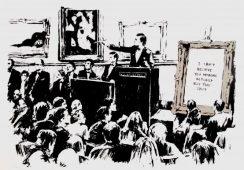 Największa wystawa prac Banksy'ego otwarta w Rzymie