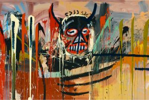 Jean-Michel Basquiat, Untitled (fragment), źródło: Christie's