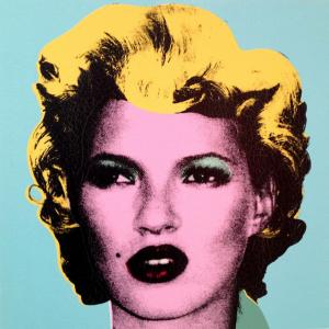Banksy, Kate Moss, 2011, źródło: Andipa Gallery