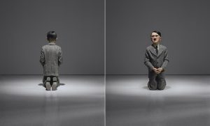 Maurizio Cattelan, Him, 2001, źródło: Christie's