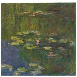 Claude Monet, Le Bassin aux Nymphéas, źródło: Christie's