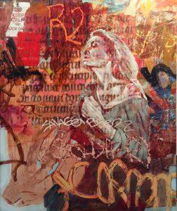 Marcelina Groń, Historia miasta, 180x150 cm, 2016, akryl na płótnie.jpg