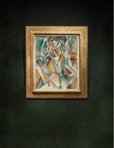 Pablo Picasso's Femme Assise, 1909, źródlo: Sotheby's