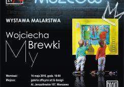 """Wystawa prac Wojciecha Brewki """"My"""" w officyna art&design podczas Nocy Muzeów"""