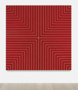 Frank Stella, Delaware Crossing, 1961, źródło: Sotheby's