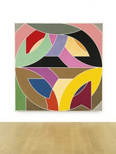 Frank Stella, Variations on a Circle, 1968, źródło: Sotheby's