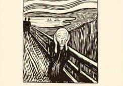"""""""Krzyk"""" Muncha w wersji graficznej na aukcji w Sotheby's"""