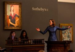 Nowe rekordy i 151 milionów dolarów za dzieła na aukcji w Sotheby's