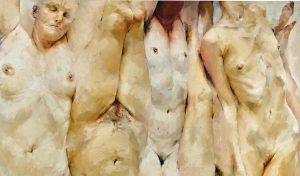 """Jenny Saville, """"The Shift"""", 1996-1997, źródło: Sotheby's"""
