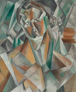 """Pablo Picasso, """"Femme Assise"""", 1909, źródło: Sotheby's"""