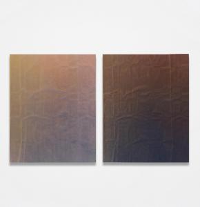 """Tauba Auerbach, """"Enfold/Fold"""", 2010, źródło: Philips"""