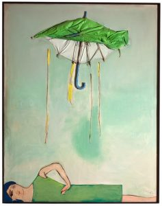 Tadeusz Kantor, Emballage II Parasol i postać, 1967 (XVII-0622)