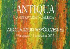 Antykwariat Antiqua – Aukcja Sztuki Współczesnej
