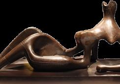 Rzeźba Henry'ego Moore'a  z szansą na nowy rekord