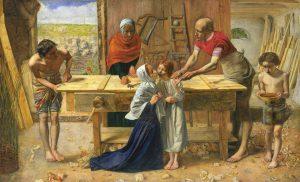 John Everett Millais, Chrystus w domu rodziców, 1850