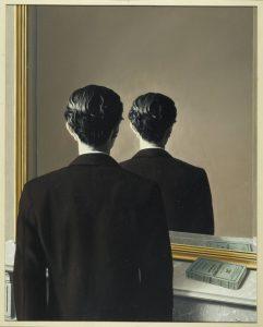 Rene Magritte, La reproduction interdite, 1937, źródło: Museum Boijmans Van Beuningen, Rotterdam