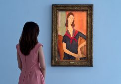 Przepiękny portret ukochanej Modiglianiego na aukcji w Sotheby's
