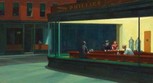 "Edvard Hopper, ""Nighthawks"", 1942"
