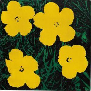 """Elaine Sturtevant, """"Study for flowers"""", 1964-65, źródło: Muzeum Sztuki Współczesnej Garaż"""