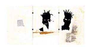 "Jean-Michel Basquiat, ""Self-Portrait"", 1981, źródło:Christie's"