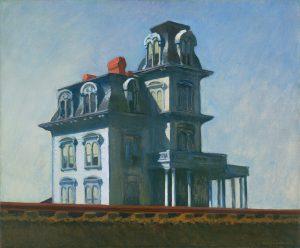 """Edvard Hopper, """"Dom przy torach"""", 1925"""