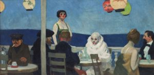 "Edvard Hopper, ""Soir Bleu"", 1914"