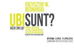 """Wystawa Krzysztofa Bednarskiego """"Ubi sunt?/Gdzie oni są?"""" w Galerii ART MAIN STATION by mia na Dworcu Głównym PKP we Wrocławiu"""