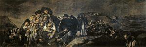 """Francisco de Goya, """"Pielgrzymka do źródła św. Izydora"""", 1819-1823, własność: Dom Głuchego w Madrycie"""
