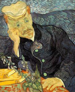 "Vincent van Gogh, ""Portret Doktora Gacheta"", 1890"