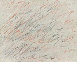 Cy Twombly, Untitled, 1971, Żródło Sotheby's
