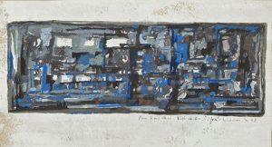 Maria Helena Vieira da Silva. Untitled, 1958, źródło: Bonhams