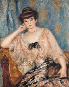 August Renoir, Portret Misi Gidebskiej-Sert, 1904