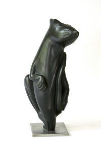 Beata Czapska, La Ratte Verde, brąz