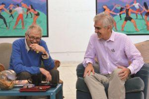 David Hockney i Martin Gayford, Los Angeles, kwiecień 2014