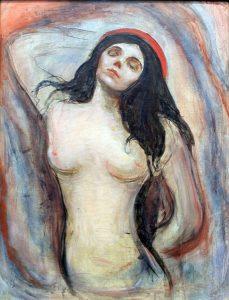 Edvard Munch, Madonna, 1894