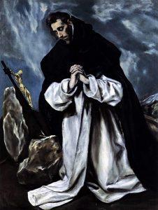 El Greco, St. Dominic in Prayer, 1586-1590